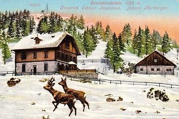Postkarte-SonnwendsteinRehe366